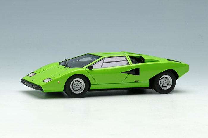 Eidolon Em387j Lamborghini Countach Lp400 1974 Lime Green Limited