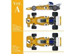 Photo1: HIRO K584 1/43 McLaren M19 Ver.A M19A 1971 Rd.10 Canadian GP #9 D.Hulme / Rd.11 U.S. GP #7 D.Hulme