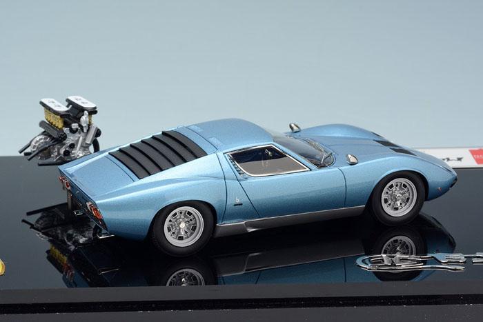 Eidolon Em319sp C Lamborghini Miura P400sv 1971 With Engine Metallic
