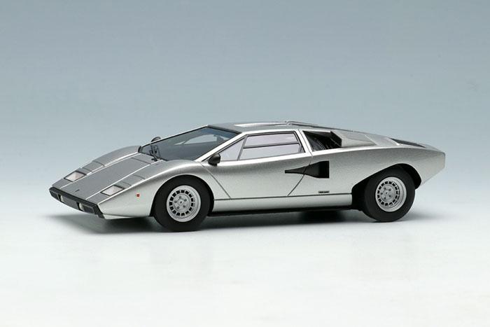 Eidolon Em387i Lamborghini Countach Lp400 1974 Silver Limited 30pcs