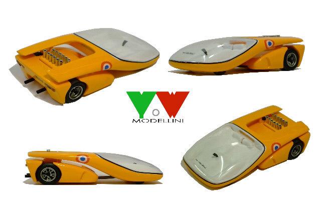 Yow Modellini K109 Lamborghini Miura Le Mans Raccoon Web Shop
