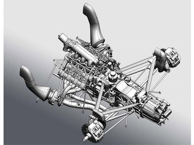 Model Factory Hiro K473 1:12 Williams FW11B ver.B  1987 Rd.15 Japanese GP #5#6